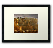 Lone Woman of Jaisalmer Framed Print