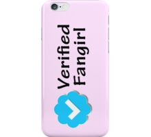 """Verified Fangirl"" iPhone Case/Skin"
