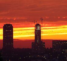 Sunset  by tstreet