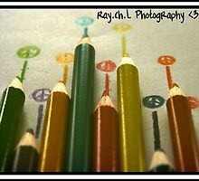 Pencil Crayons by raychL