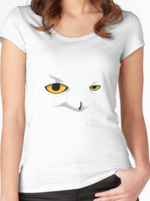 Snowy Owl Women's Fitted Scoop T-Shirt