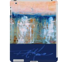 Three Princes. FA Moore Signature design, in Royal Blue iPad Case/Skin