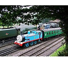 Thomas Leaves the Station  Photographic Print