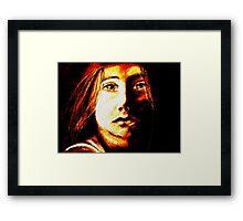 Child of Fire Framed Print