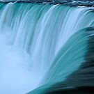 Horseshoe Falls - Turquoise by Stephen Beattie