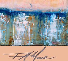 Three Princes. FA Moore Signature design, in Peach by F.A. Moore