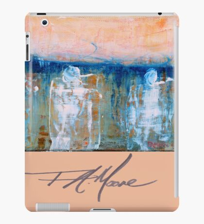 Three Princes. FA Moore Signature design, in Peach iPad Case/Skin