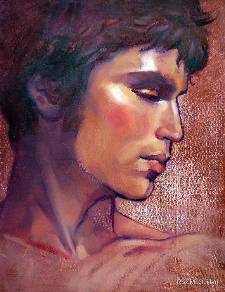 Portrait of Tomas by Roz McQuillan