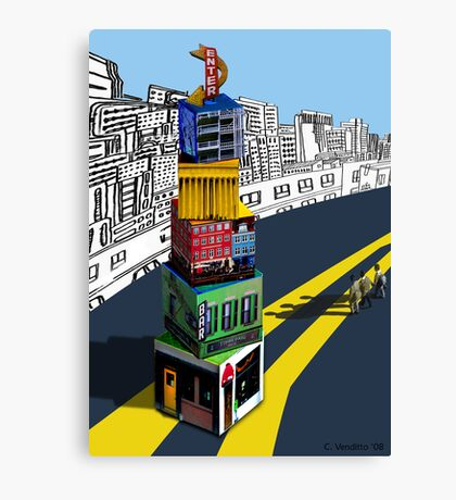 City Blocks Canvas Print