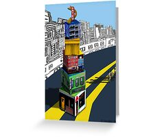 City Blocks Greeting Card