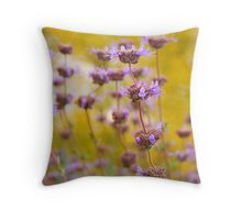 Flowers and Plants Throw Pillow