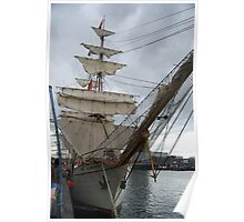 Tall Ship - Europa by Paula  Poster