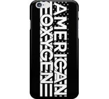 AMERICAN OXYGEN [Black] iPhone Case/Skin
