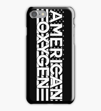 AMERICAN OXYGEN [Black] iPhone Case/Skin