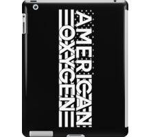 AMERICAN OXYGEN [Black] iPad Case/Skin
