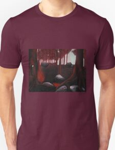 Monochrome Forest Painting T-Shirt