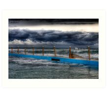 Ocean Pool Storms Art Print