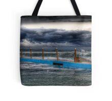 Ocean Pool Storms Tote Bag