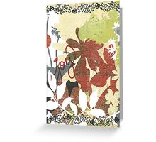 Holly Joy Greeting Card