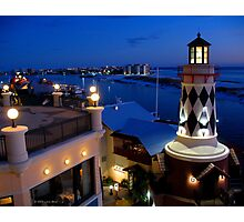 Blue Harbor Photographic Print