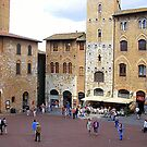 Late Afternoon In San Gimignano by Fara