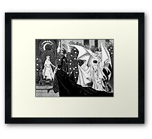 Persephone and Hades Framed Print