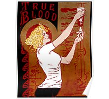 True Blood Nouveau red Poster
