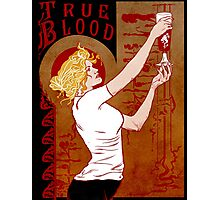 True Blood Nouveau red Photographic Print