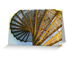 Light House Spiral Greeting Card
