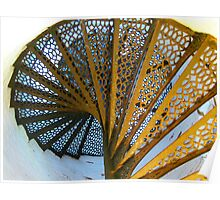 Light House Spiral Poster
