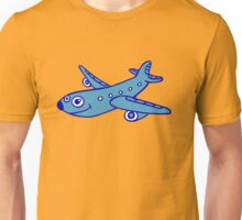 avion plane planes cartoon Unisex T-Shirt