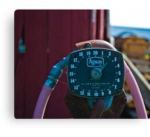 Petrol for Your Tractor Sir? Canvas Print