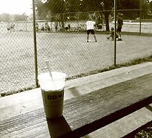 Dunkin Donuts and Baseball by AntonLee