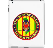 199th Infantry - Vietnam Veteran iPad Case/Skin