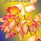 YOU ARE LOVED (CARD 2041) by Thomas Barker-Detwiler