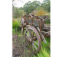 """Bridgewater Wagon"" Photographic Print"