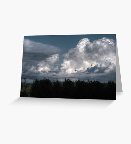Breathtaking Cloudscape Greeting Card