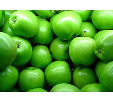 Mmmm... Apples!!! Photographic Print