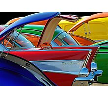 Back To The Car Show. Photographic Print