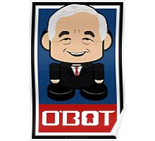 Ron Paul Politico'bot Toy Robot 2.0 Poster