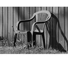 Empty chair Photographic Print