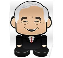 Ron Paul Politico'bot Toy Robot 1.0 Poster