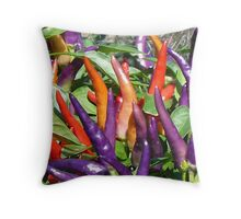 Color of Spice Throw Pillow