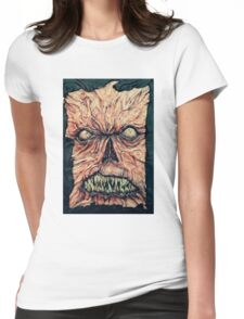 Necronomicon ex mortis Womens Fitted T-Shirt
