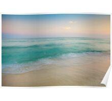 Sunset Tidal Poster