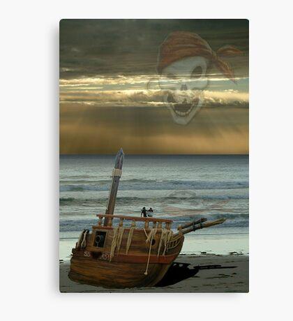 Pirate Surfers Canvas Print