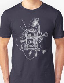 The Music Machine For Dark Shirts Unisex T-Shirt