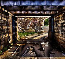 Kamelegdan Fortress Gate Overpass by stockfineart