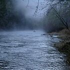 misty river by ChaosRain
