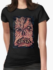 Necronomicon ex mortis 2 Womens Fitted T-Shirt